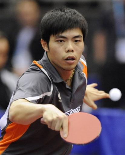 图文 世乒赛男女单第二轮激战庄智渊被斩落马下