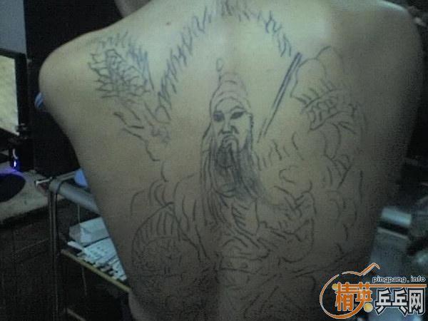可爱小怪兽纹身图片